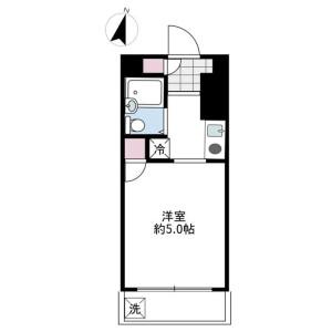 1R Mansion in Nakanoshima - Kawasaki-shi Tama-ku Floorplan