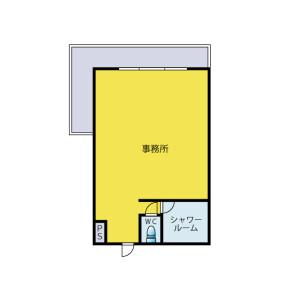 藤澤市大鋸-1R公寓大廈 房間格局
