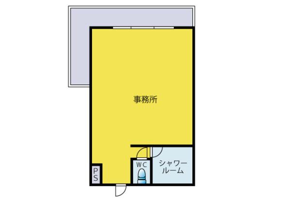 Office Apartment to Rent in Fujisawa-shi Floorplan
