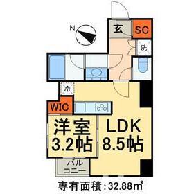 千代田区 神田多町 1LDK マンション 間取り
