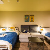 1R Serviced Apartment to Rent in Osaka-shi Naniwa-ku Bedroom