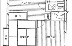 2DK {building type} in Sunagawacho - Tachikawa-shi