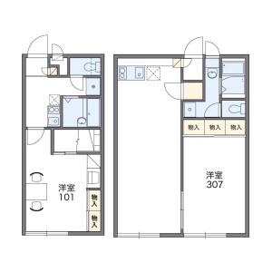 1K Mansion in Omoriminami - Ota-ku Floorplan