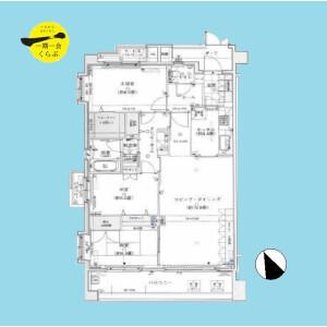 3LDK {building type} in Kugayama - Suginami-ku Floorplan