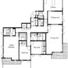 3LDK Apartment to Rent in Shinagawa-ku Floorplan