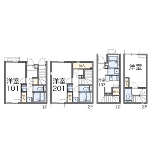 1K Mansion in Sakuragaoka - Setagaya-ku Floorplan
