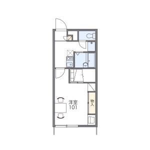 1K Mansion in Koja - Okinawa-shi Floorplan