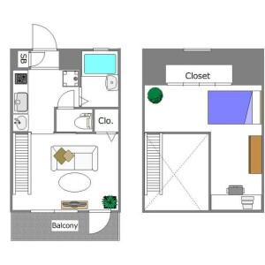 2K Mansion in Sangenjaya - Setagaya-ku Floorplan
