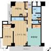 2SLDK 맨션 to Rent in Shinjuku-ku Floorplan