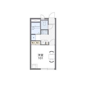 1K Mansion in Nishiogu - Arakawa-ku Floorplan