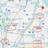 在墨田区购买楼房(整栋) 公寓的 地图
