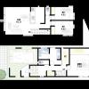 在豊中市購買3LDK 獨棟住宅的房產 房間格局