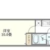 在大田區購買1K 公寓大廈的房產 房間格局