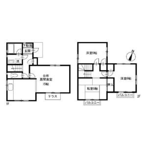 3LDK House in Isogo - Yokohama-shi Isogo-ku Floorplan