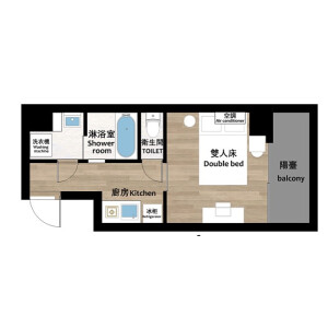 1K Mansion in Higashiueno - Taito-ku Floorplan