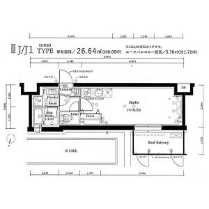 1R Mansion in Kitashinagawa(5.6-chome) - Shinagawa-ku Floorplan