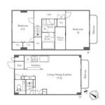2LDK 简易式公寓