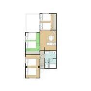 3LDK Mansion in Kawarashicho - Kyoto-shi Nakagyo-ku Floorplan