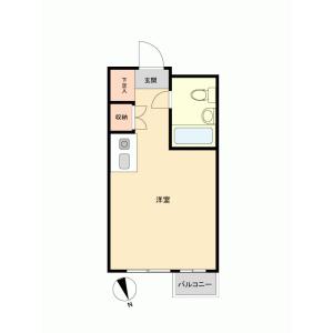 1R {building type} in Ichinomiya - Tama-shi Floorplan