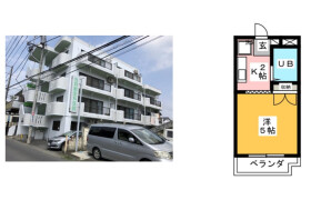 1K {building type} in Higashishindo - Hiratsuka-shi