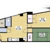 在大田區內租賃2LDK 公寓大廈 的房產 房間格局