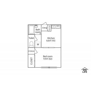 1DK Mansion in Sengawacho - Chofu-shi Floorplan