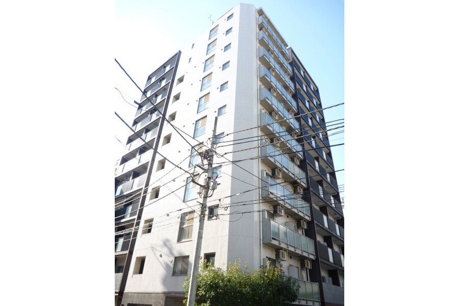 1R Apartment to Rent in Chuo-ku Exterior