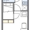 1K Apartment to Rent in Osaka-shi Kita-ku Floorplan