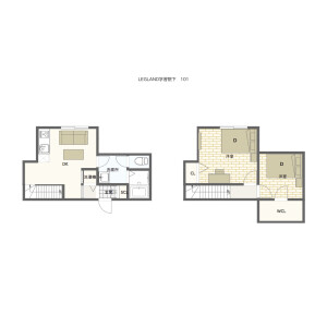 2DK Mansion in Takada - Toshima-ku Floorplan