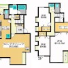 3LDK Terrace house to Rent in Shibuya-ku Floorplan
