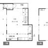 在京都市中京區購買2K 獨棟住宅的房產 房間格局