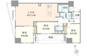3LDK {building type} in Asakusa - Taito-ku