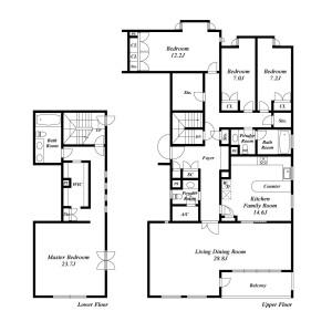 4LDK {building type} in Higashigotanda - Shinagawa-ku Floorplan