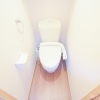 1K Apartment to Rent in Meguro-ku Toilet