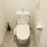 1R Serviced Apartment to Rent in Osaka-shi Kita-ku Toilet