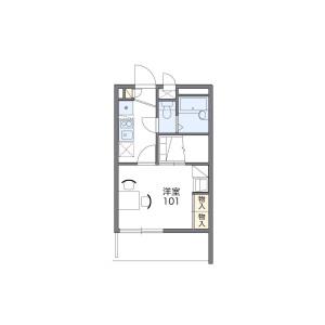 1K Mansion in Sugamo - Toshima-ku Floorplan