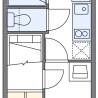 1K Apartment to Rent in Narashino-shi Floorplan