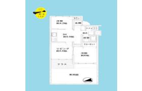 2LDK {building type} in Kamiogi - Suginami-ku