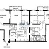 4LDK Apartment to Rent in Shinjuku-ku Floorplan