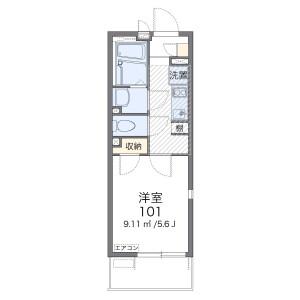 1K Apartment in Shirahata - Saitama-shi Minami-ku Floorplan