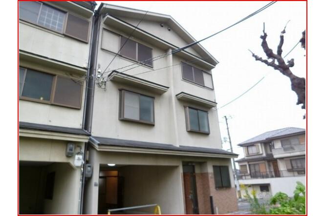 3DK テラスハウス 大阪市住吉区 外観