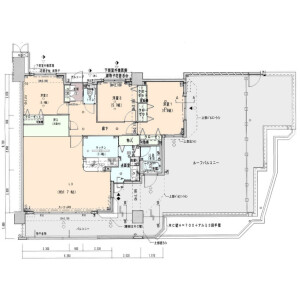 4LDK {building type} in Onoyamacho - Naha-shi Floorplan
