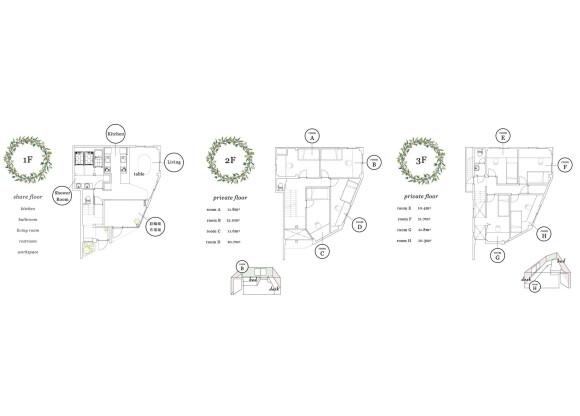 8LDK Apartment to Buy in Kyoto-shi Sakyo-ku Floorplan