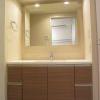 1LDK Apartment to Rent in Shinjuku-ku Washroom