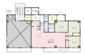 3SLDK Mansion in Toyama(sonota) - Shinjuku-ku
