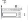 1K Apartment to Rent in Yosa-gun Yosano-cho Layout Drawing