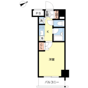 1K Mansion in Osaki - Shinagawa-ku Floorplan