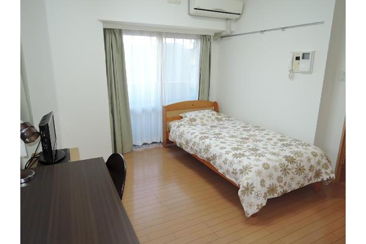 在Chuo-ku内租赁1K 大厦式公寓 的 卧室