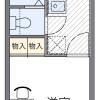 1K Apartment to Rent in Shiki-shi Floorplan