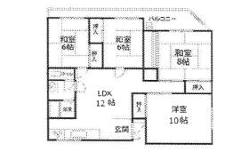 4LDK Apartment in Kuwazu - Osaka-shi Higashisumiyoshi-ku